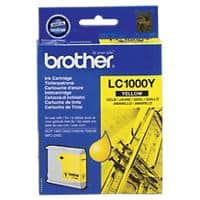 Brother LC1000Y Original Tintenpatrone Gelb