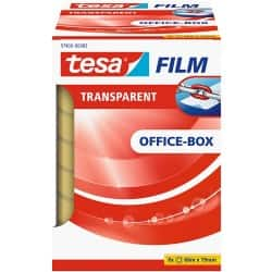 tesafilm Klebefilm 57406 Office Box 19 mm x 66 m Transparent 8 Rollen à 66 m