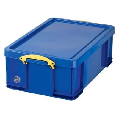 Really Useful Boxes Aufbewahrungsbox Blau 48 x 39 x 20 cm