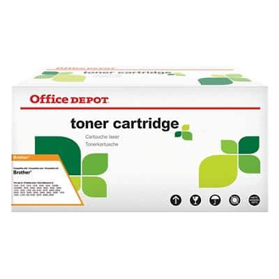 Kompatible Office Depot Brother TN-130BK Tonerkartusche Schwarz