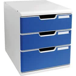 Exacompta Bürobox 325003D A4 blau
