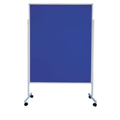 Office Depot Infodisplay Fenster Blau