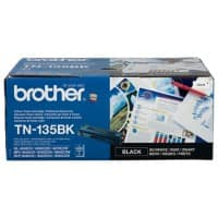 Brother Original TN-135BK Tonerkartusche Schwarz