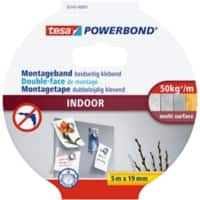 tesa Powerbond Montageband Indoor 19 mm x 5 m Orange