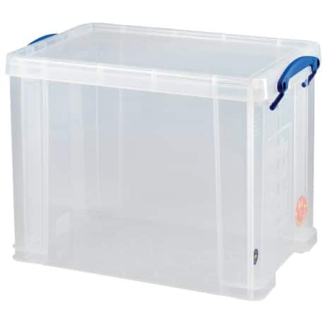 Really Useful Boxes Aufbewahrungsbox 19C 19 l Transparent Kunststoff 39,5 x 25,5 x 29 cm