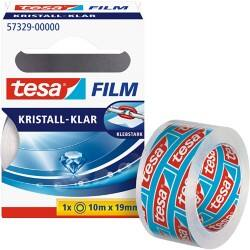 tesafilm Klebefilm Crystal Clear 19 mm x 10 m Transparent