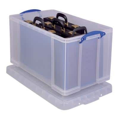Really Useful Box Aufbewahrungsbox 84CCB 84 L Transparent Polypropylen 44 x 71 x 38 cm