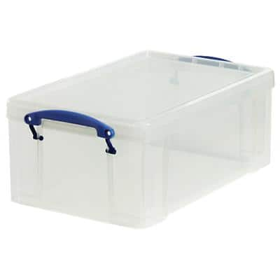 Really Useful Box Aufbewahrungsbox 9C 9 L Transparent Kunststoff 25,5 x 39,5 x 15,5 cm