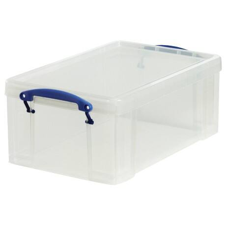 Really Useful Boxes Aufbewahrungsbox 9C 9 l Transparent Kunststoff 25,5 x 39,5 x 15,5 cm