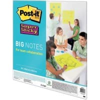 Post-it Meeting Chart Big Note Super Sticky Neongrün 95 g/m² 55,8 x 55,8 cm