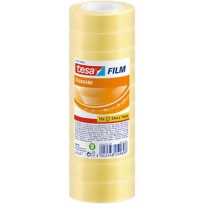 tesafilm Klebefilm 57387 Office Box 15 mm x 33 m Transparent 10 Rollen