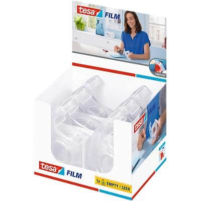 tesa Handabroller Easy Cut Transparent 1,9 x 3,3 cm