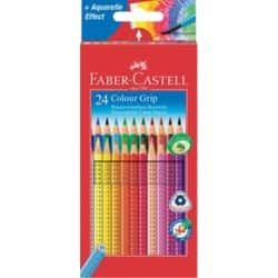 Faber-Castell Buntstifte Colour Grip 24 Stück