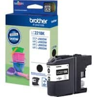 Brother LC221BK Original Tintenpatrone Schwarz