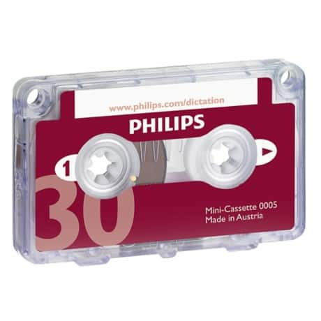Philips Mini Kassette B0005/60 Rot