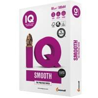 IQ Selection Smooth Multifunktionspapier DIN A4 80 g/m² Weiß 500 Blatt