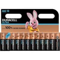 Duracell AA Alkali-Batterien Ultra Power MX1500 LR6 1,5 V 12 Stück