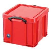 Really Useful Box Aufbewahrungsbox 35R 35 L Rot Polypropylen 48 x 39 x 31 cm