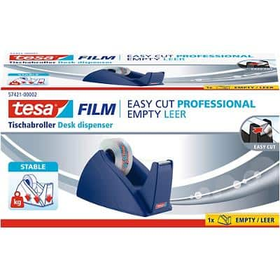 Tesafilm Tischabroller Easy Cut Professional Blau 19 mm x 33 m