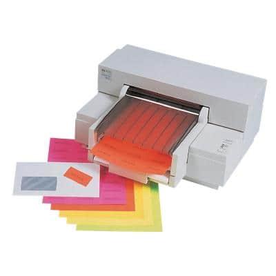 Herlitz Multifunktionsetiketten Neon Rot 600 Stück