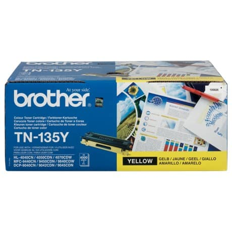Brother TN-135Y Original Tonerkartusche Gelb