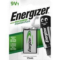 Energizer 9 V Wiederaufladbare Batterien Power Plus 6HR61 175 mAh NiMH