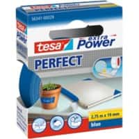 tesa extra Power Gewebeband Perfect 19 mm x 2,75 m Blau