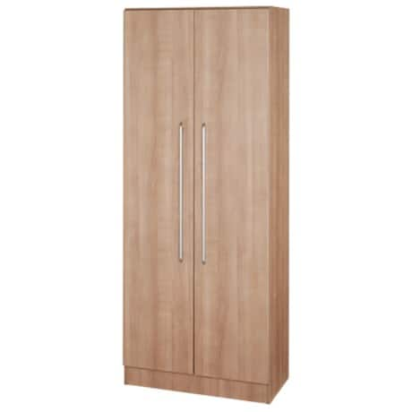 hammerbacher schrank matrix nussbaum 80 x 42 x 200 4 cm viking deutschland. Black Bedroom Furniture Sets. Home Design Ideas