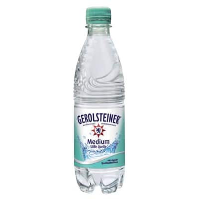 Gerolsteiner Mineralwasser Medium Stille Quelle 500 ml