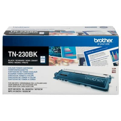 Brother TN-230BK Original Tonerkartusche Schwarz