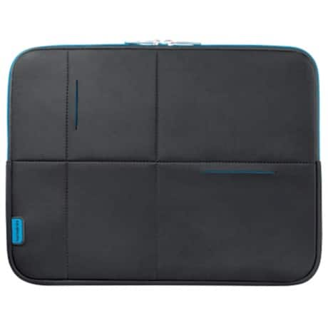 "Samsonite Laptophülle Airglow SA1125 15.6"" 15.6 "" 40 x 5 x 30,5 cm Schwarz, Blau"