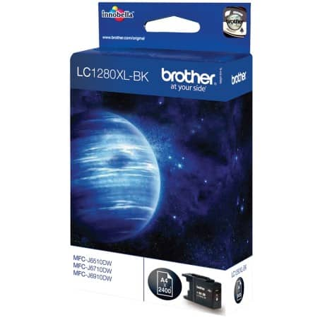 Brother LC1280XLBK Original Tintenpatrone Schwarz