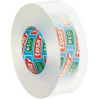 tesafilm Klebefilm 57043 Eco & Clear Polypropylen 19 mm x 33 m Transparent