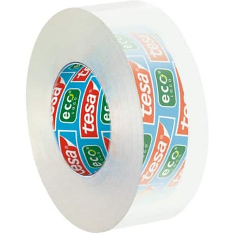 tesafilm Klebefilm 57043 Eco & Clear 19 mm x 33 m Transparent