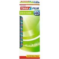 tesafilm Klebefilm Eco & Clear Polypropylen 19mm x 33m Transparent 8 Rollen
