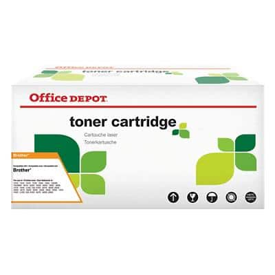 Kompatible Office Depot Brother TN-135M Tonerkartusche Magenta