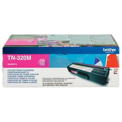 Brother TN-320M Original Tonerkartusche Magenta Magenta