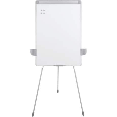 Office Depot Flipchart Management Silber 70 x 100 cm