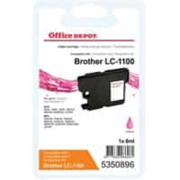 Kompatible Office Depot Brother LC1100M Tintenpatrone Magenta