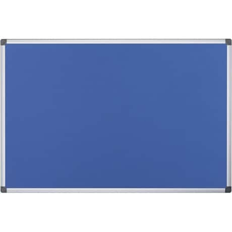 Office Depot Pinnwand Blau 60 x 45 cm