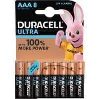 Duracell AAA Alkali-Batterien Ultra Power MX2400 LR03 1,5 V 8 Stück