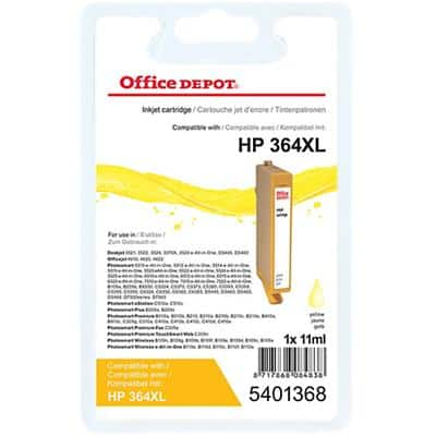 Kompatible Office Depot HP 364XL Tintenpatrone CN687EE Gelb