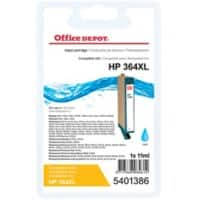 Kompatible Office Depot HP 364XL Tintenpatrone CN685EE Cyan