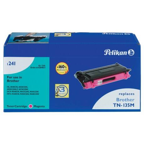 Kompatible Pelikan Brother TN-135M Tonerkartusche Magenta