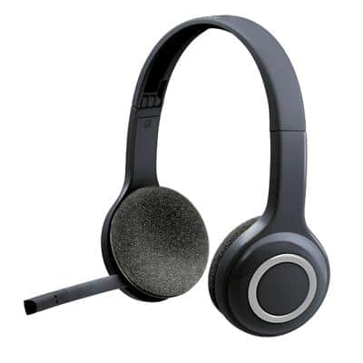 Logitech Wireless Headset H600 Schwarz