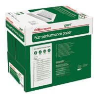 Office Depot Eco-Performance Kopier-/ Druckerpapier DIN A4 75 g/m² Weiß Quickbox mit 2500 Blatt