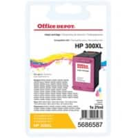Kompatible Office Depot HP 300XL Tintenpatrone CC644EE 3 Farbig