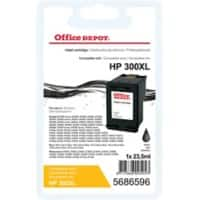 Kompatible Office Depot HP 300XL Tintenpatrone CC641EE Schwarz