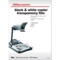 Office Depot Overhead-Folien DIN A4 Transparent 100 Blatt
