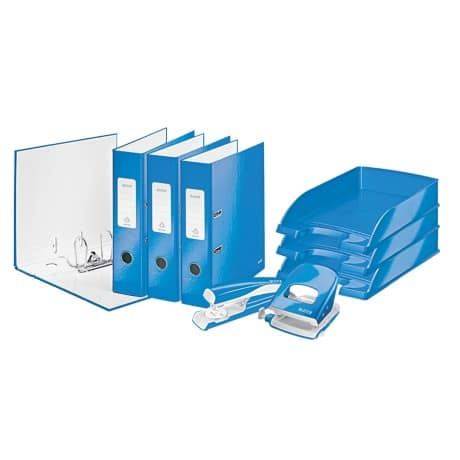 Leitz WOW Starter-Set DIN A4 80 mm Blau